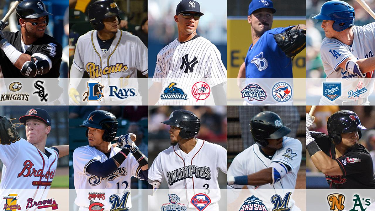 Top 10 most stacked rosters in the Minor Leagues