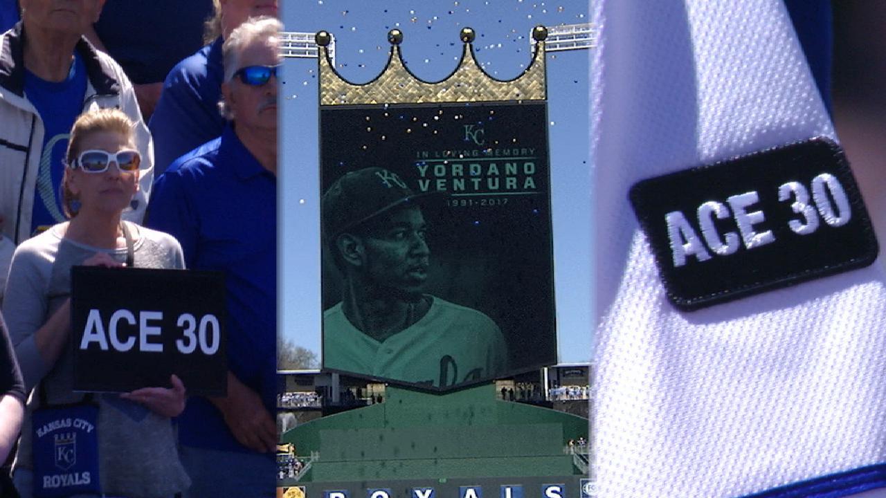 Royals honor Ventura