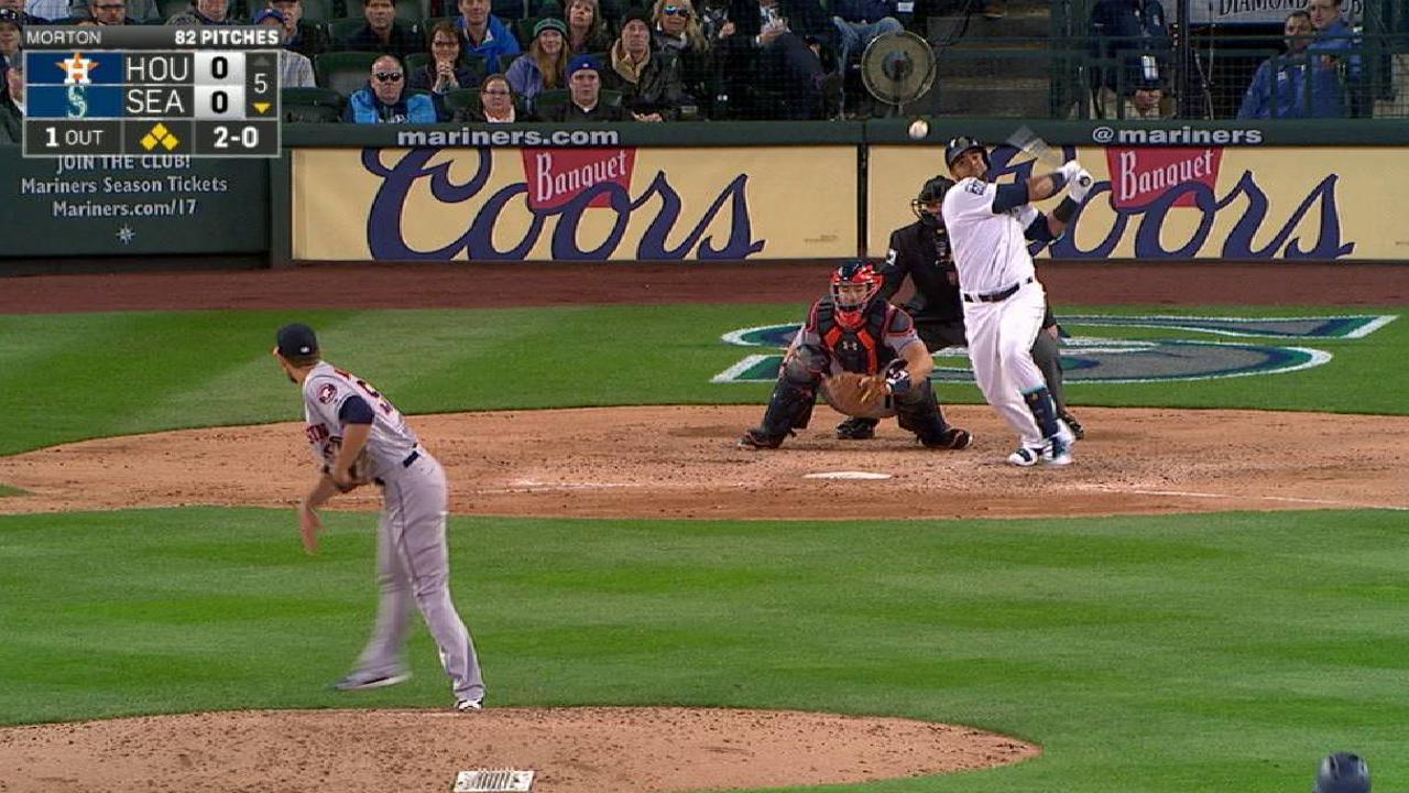 Paxton y Cruz guiaron blanqueada de Marineros sobre Astros