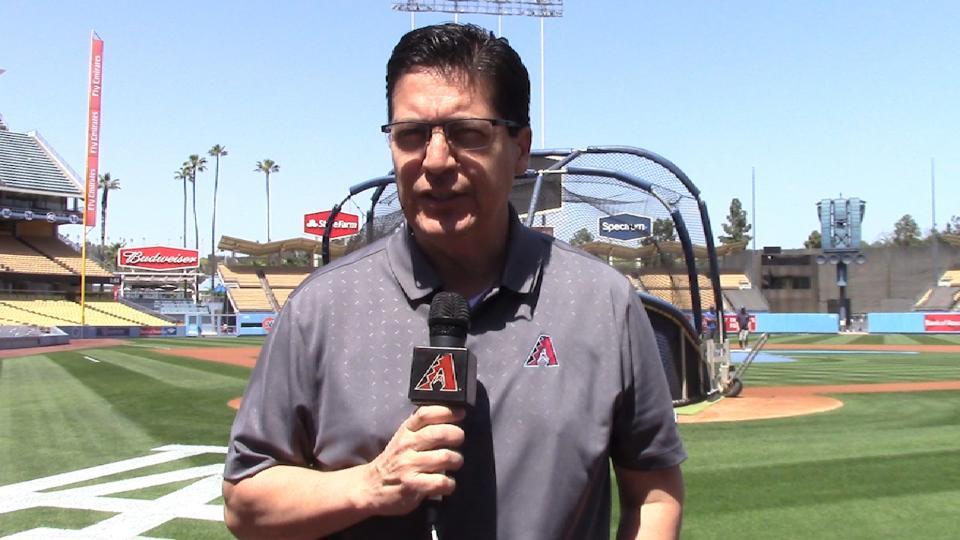 Soria analiza D-backs-Dodgers