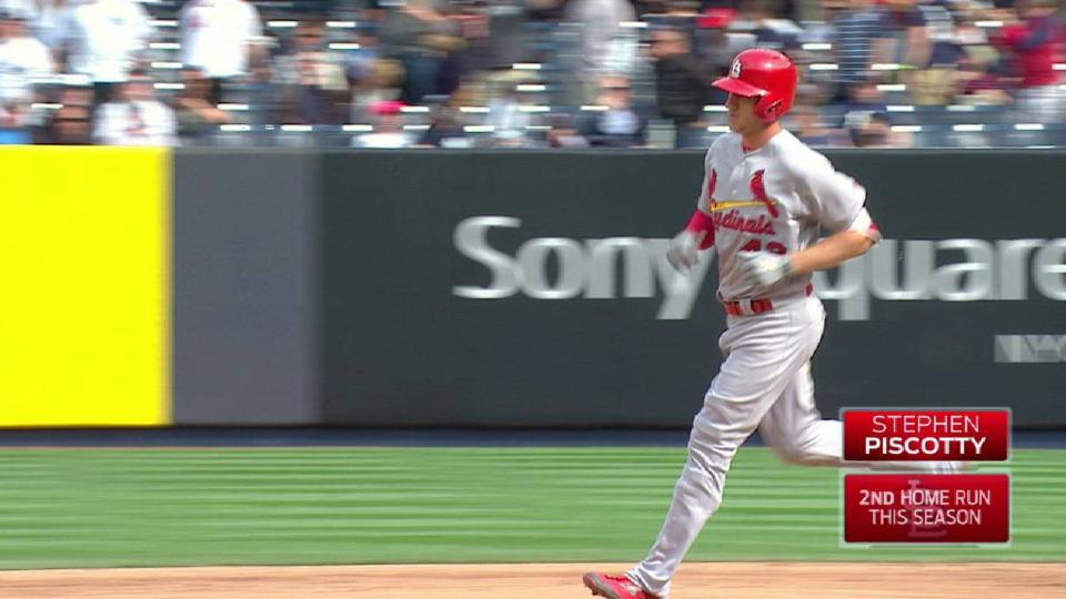Piscotty's solo home run
