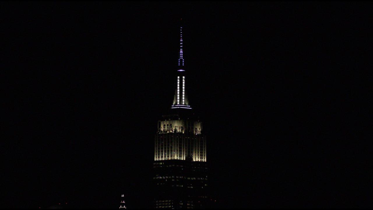 MLB Lights Up Empire State