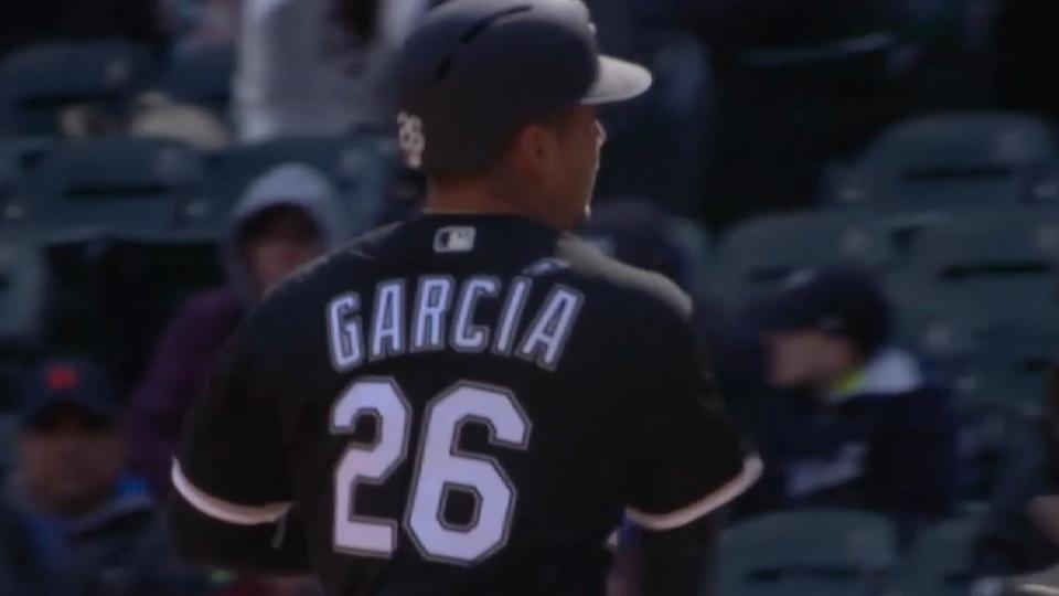 Avisail le pone acento a Garcia