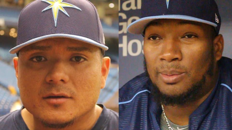 Ramirez, Diaz sobre Los Rays