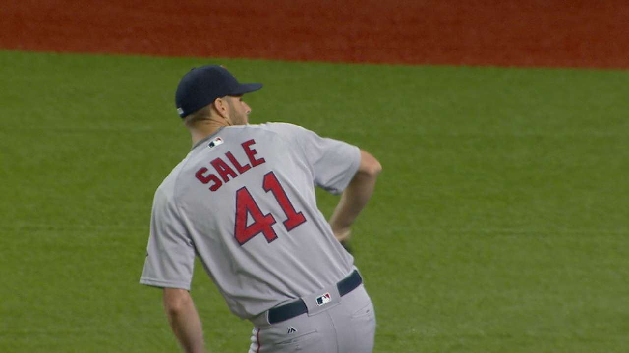 5c5ea96db5c82 Red Sox prevail after  tough decision  in 9th. Farrell ...