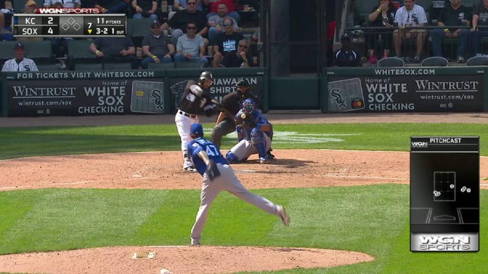 L. Garcia's solo home run
