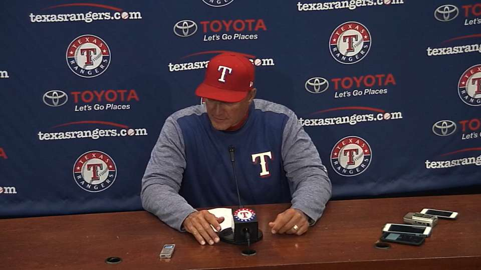 Banister on Rangers loss to A's