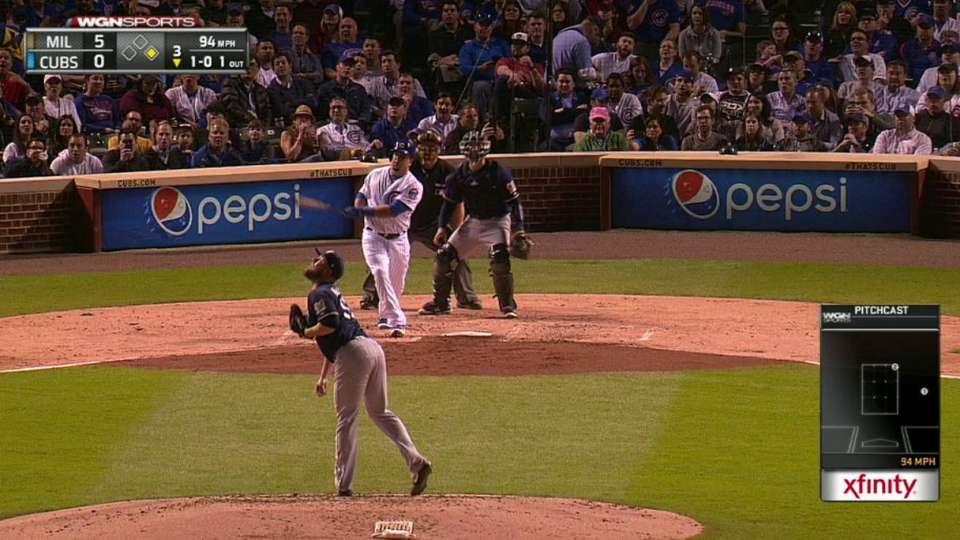 Schwarber gets Cubs on the board