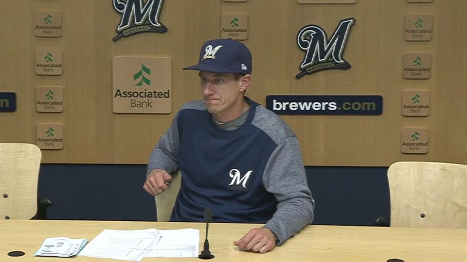 Counsell on the 1st inning rally