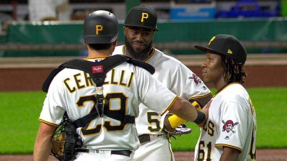 Ngoepe makes MLB debut
