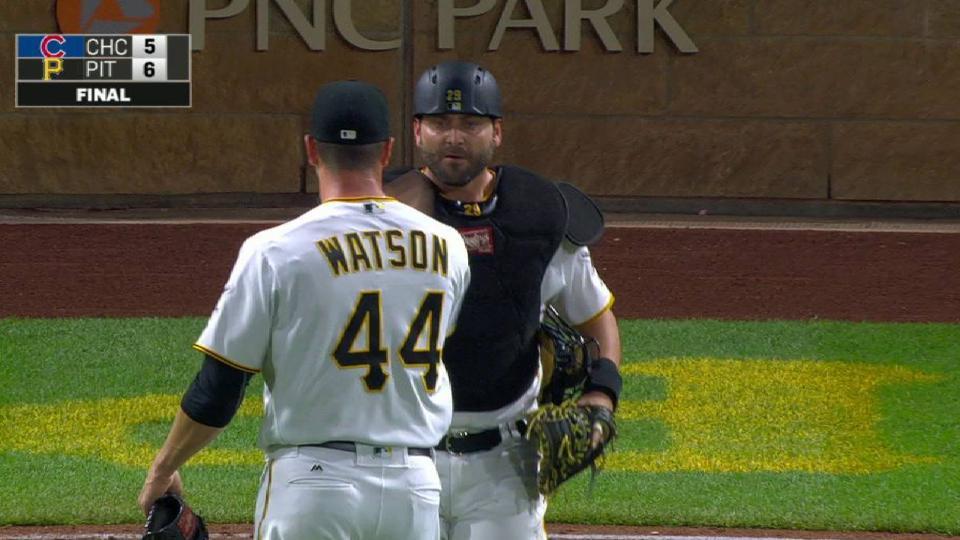 Watson notches the save
