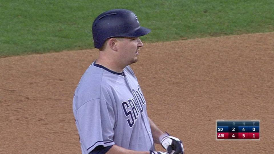 Cahill's RBI double