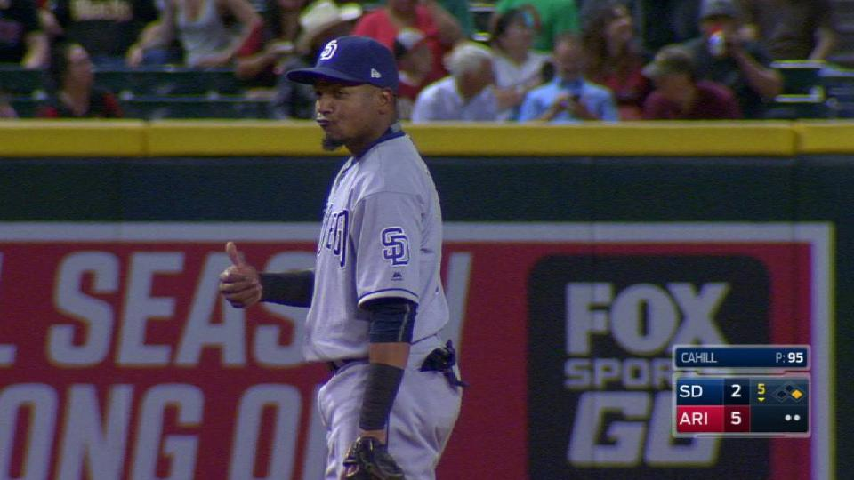 Aybar recovers for the force