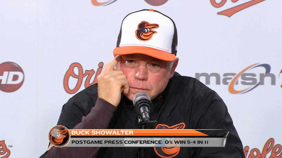 Showalter on win in extras