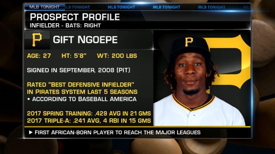 Ngoepe's historic callup