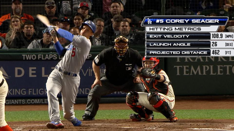 Statcast: Seager's 462-ft. homer