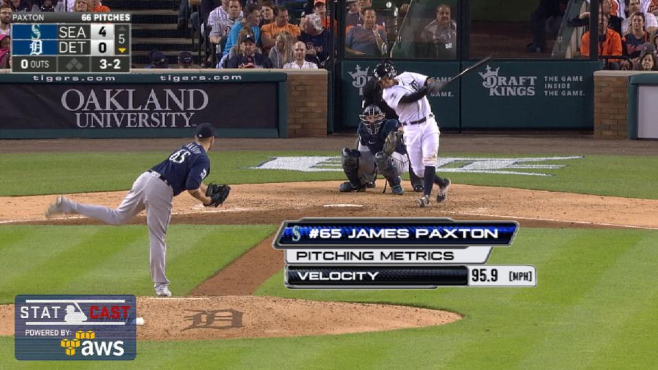 Statcast: Paxton's dominance