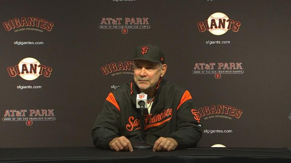 Bochy on extra-innings win
