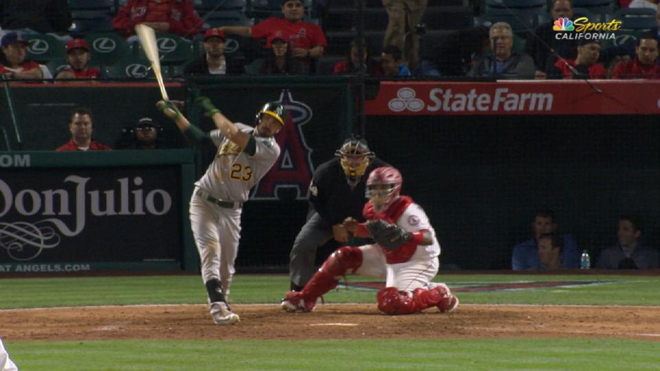 Joyce's two-run home run