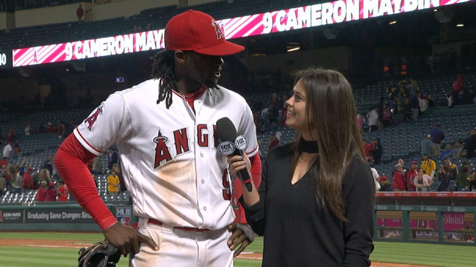 Maybin on Angels' offense