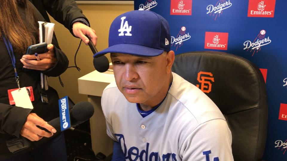Roberts on extra-innings loss