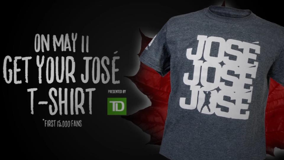 Get your Jose t-shirt on May 11