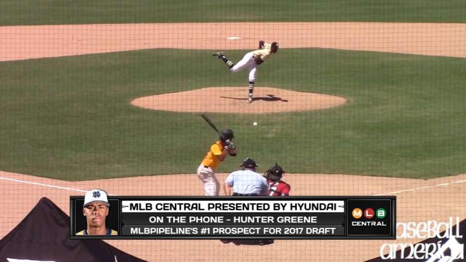 Hunter Greene joins MLB Central
