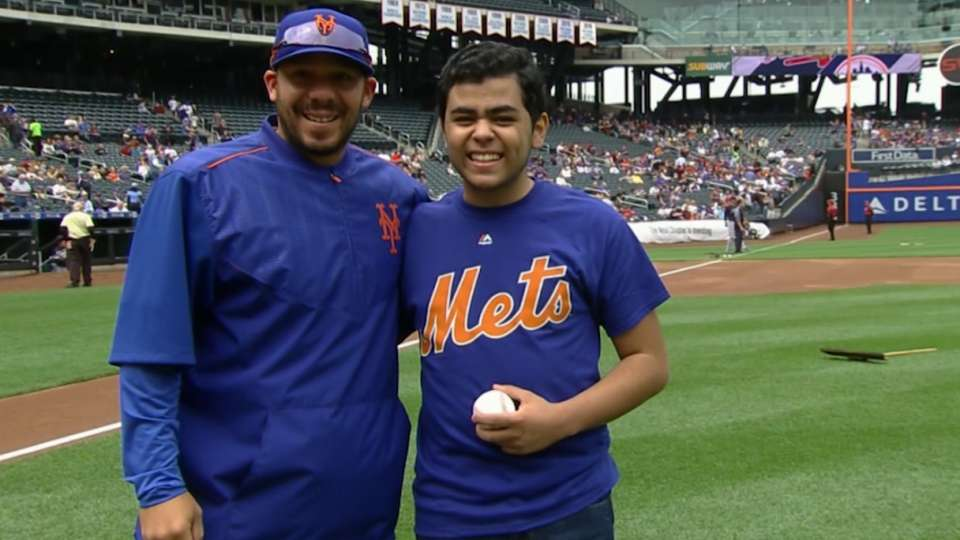 A special surprise for Mets fan