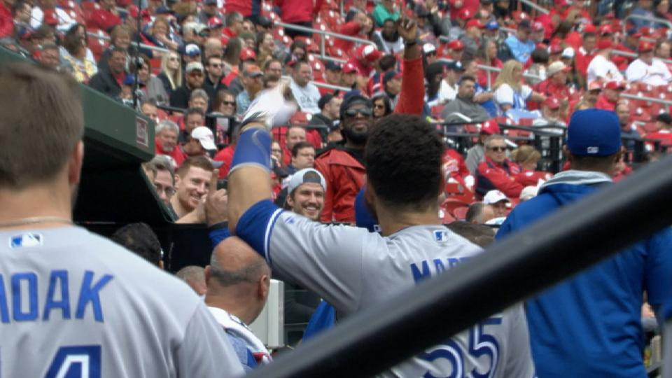 Subban enjoys Blue Jays-Cards