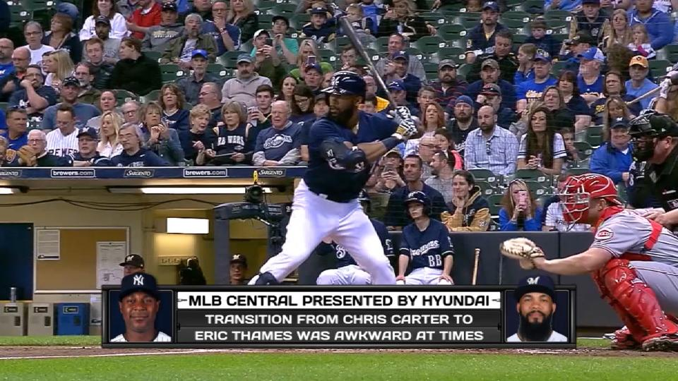 MLB Central: Thames' transition