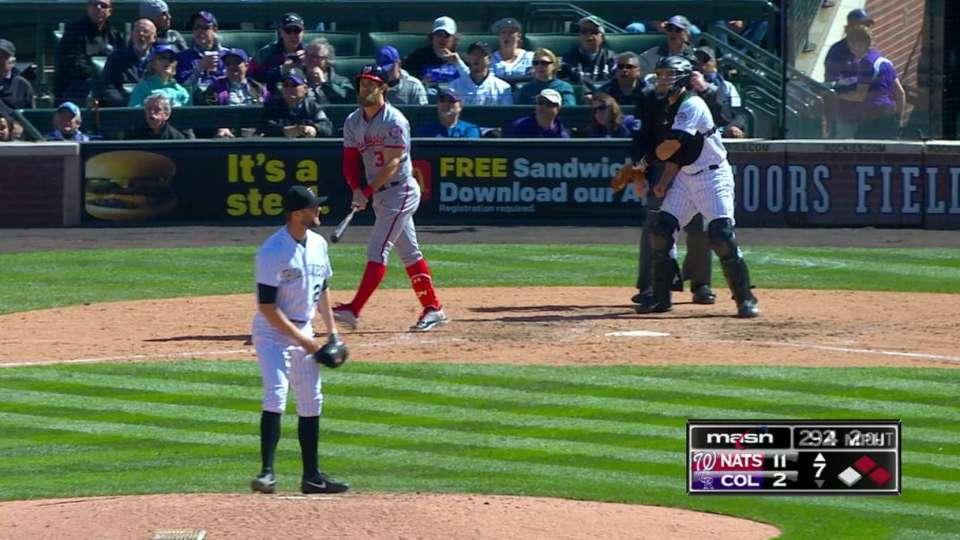 Harper's three-run homer