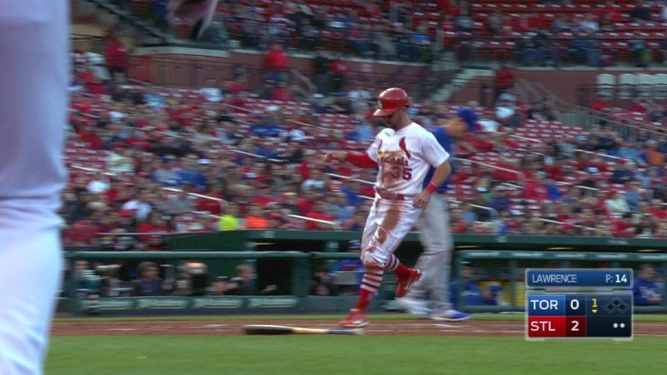 Piscotty's sacrifice fly