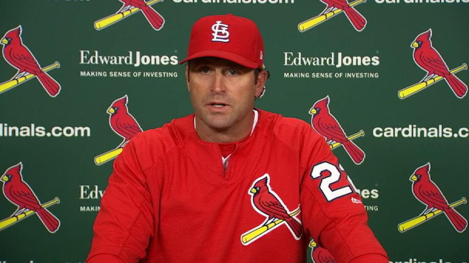 Matheny on team's improvement