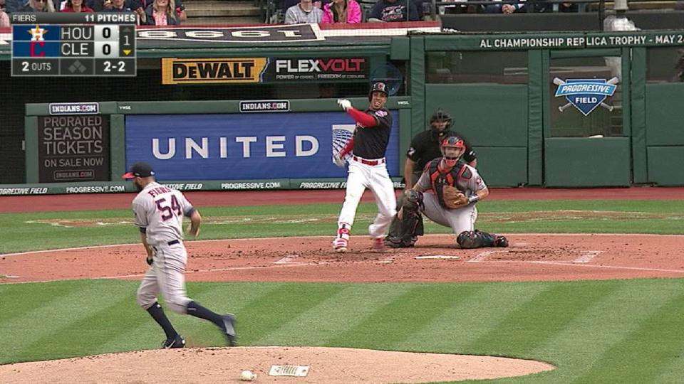 Fiers stays in after getting hit