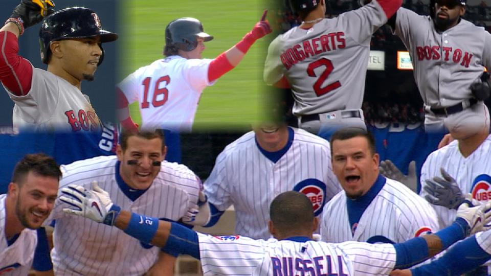 Red Sox, Cubs set for series