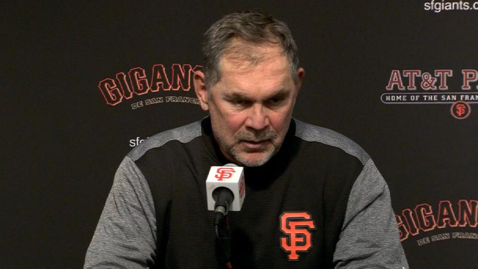 Bochy on loss to rival Dodgers