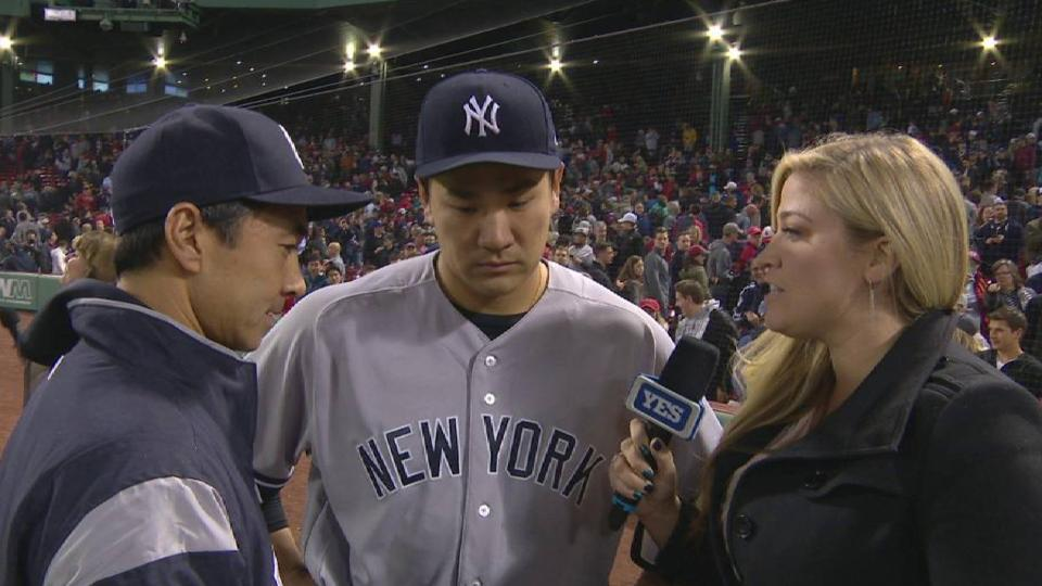 Tanaka on his performance