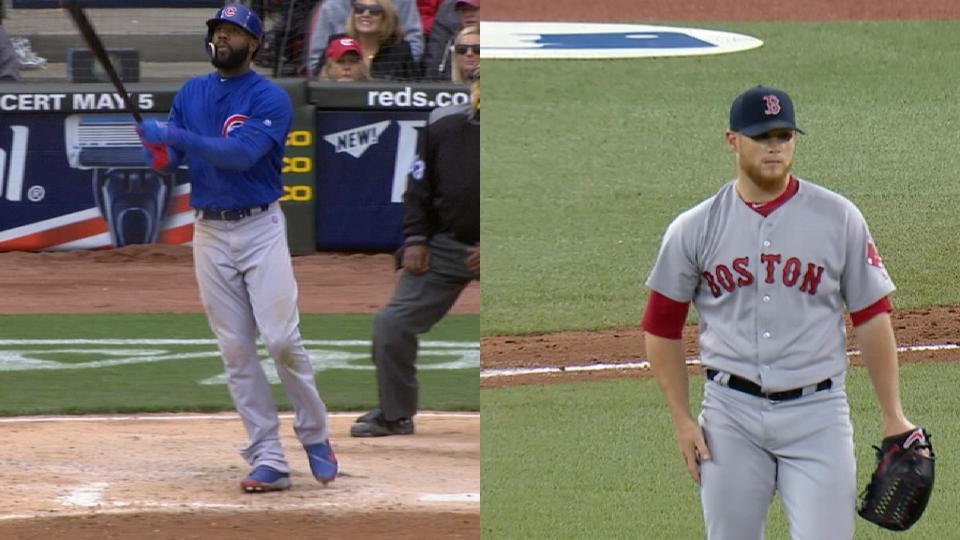 Statcast: Cubs vs. Red Sox