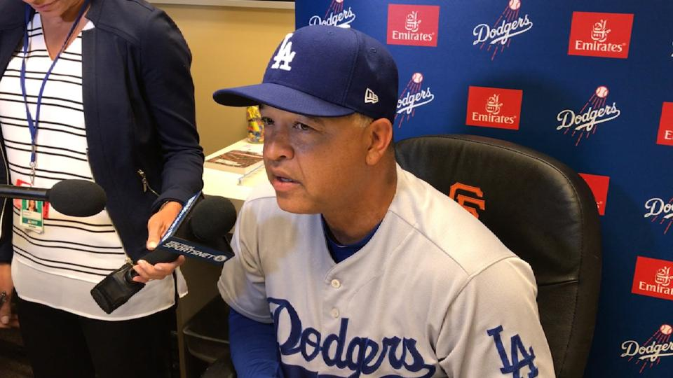 Roberts on Dodgers' 5-1 victory