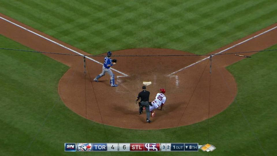 Bautista nabs Fowler at home