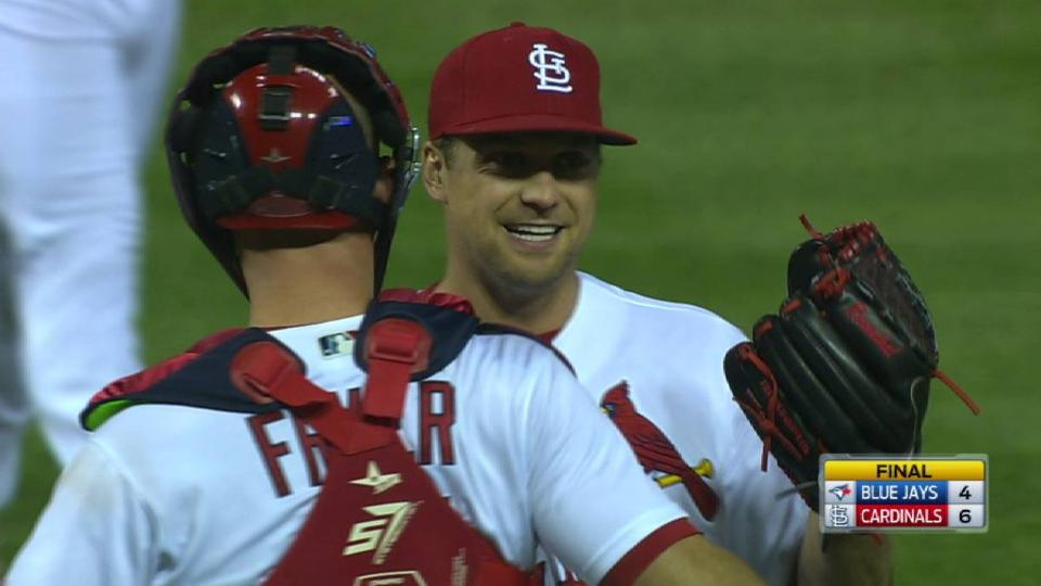 Rosenthal secures the win