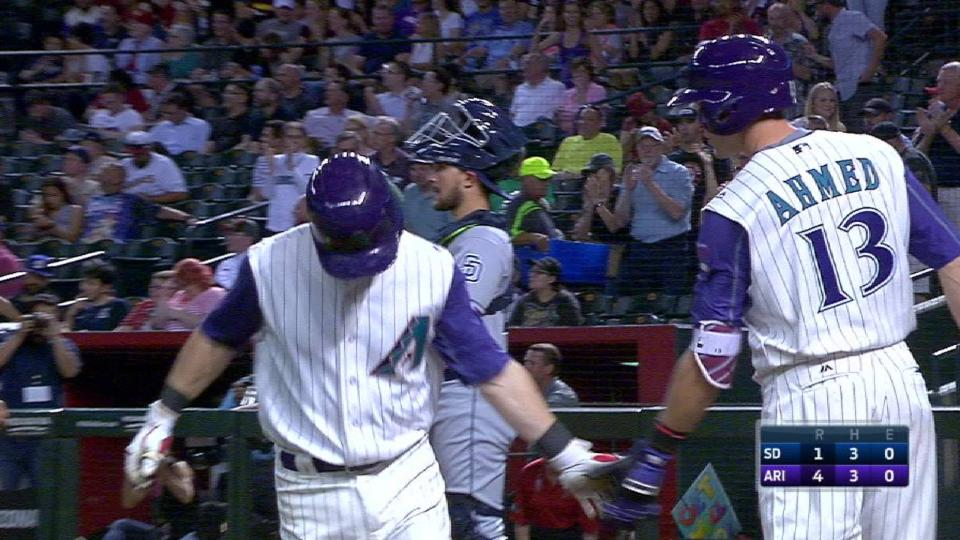 Owings' second home run