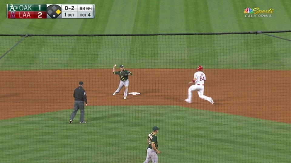 Graveman induces double play