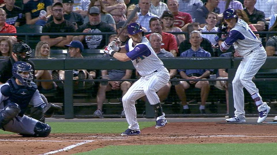 Owings goes yard twice