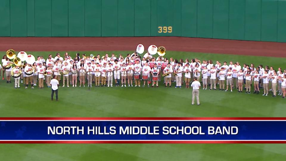 North Hills band perform at PNC