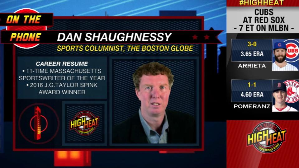 Shaughnessy on Sox-Cubs, Epstein
