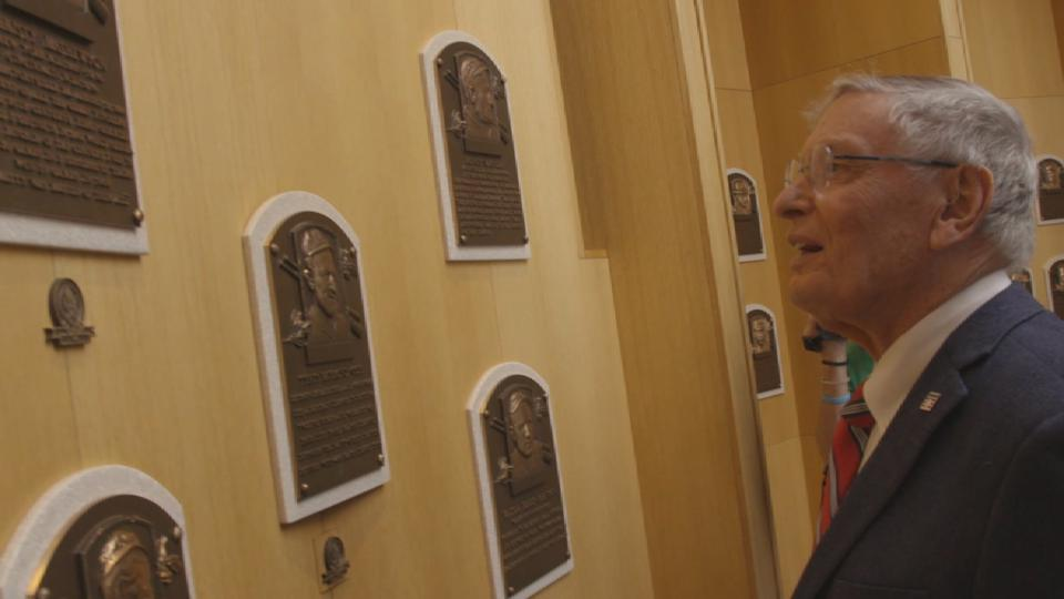 Selig visits Cooperstown