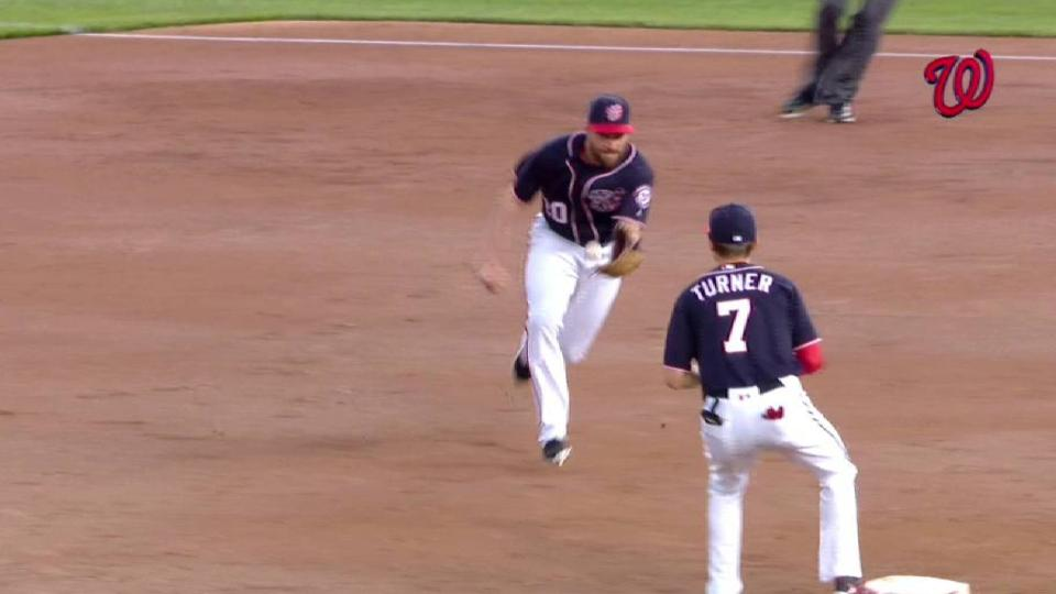 Murphy's nifty move starts a DP