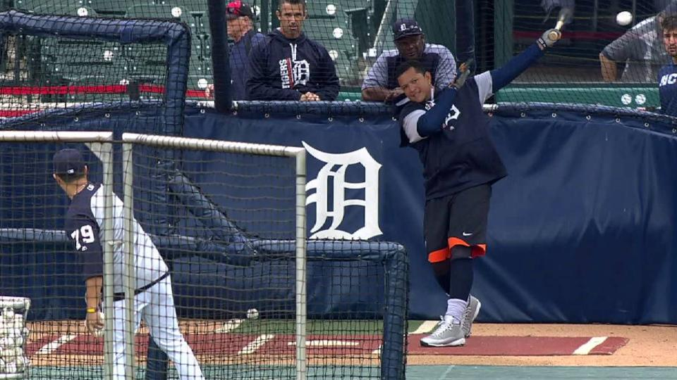 Booth updates Miggy's recovery