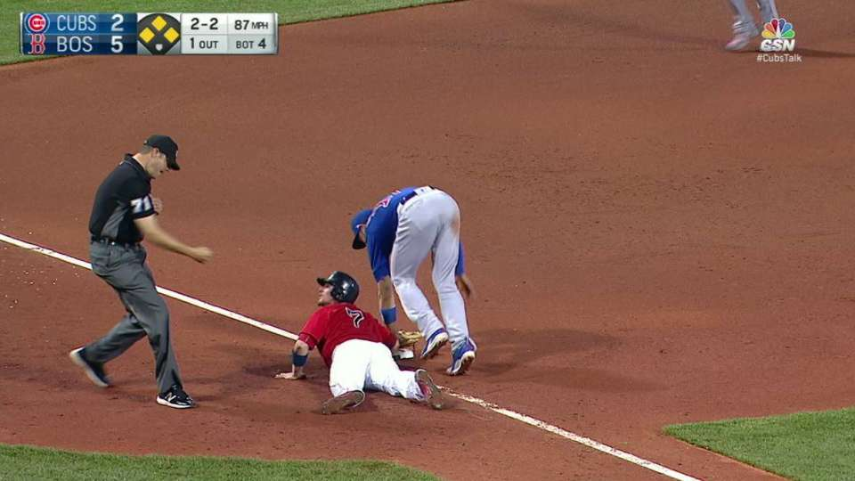 Bryant's unassisted double play